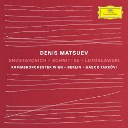 Shostakovich / Schnittke / Lutosławski by Shostakovich ,   Schnittke ,   Lutosławski ;   Denis Matsuev ,   Kammerorchester Wien - Berlin ,   Gábor Tarkövi