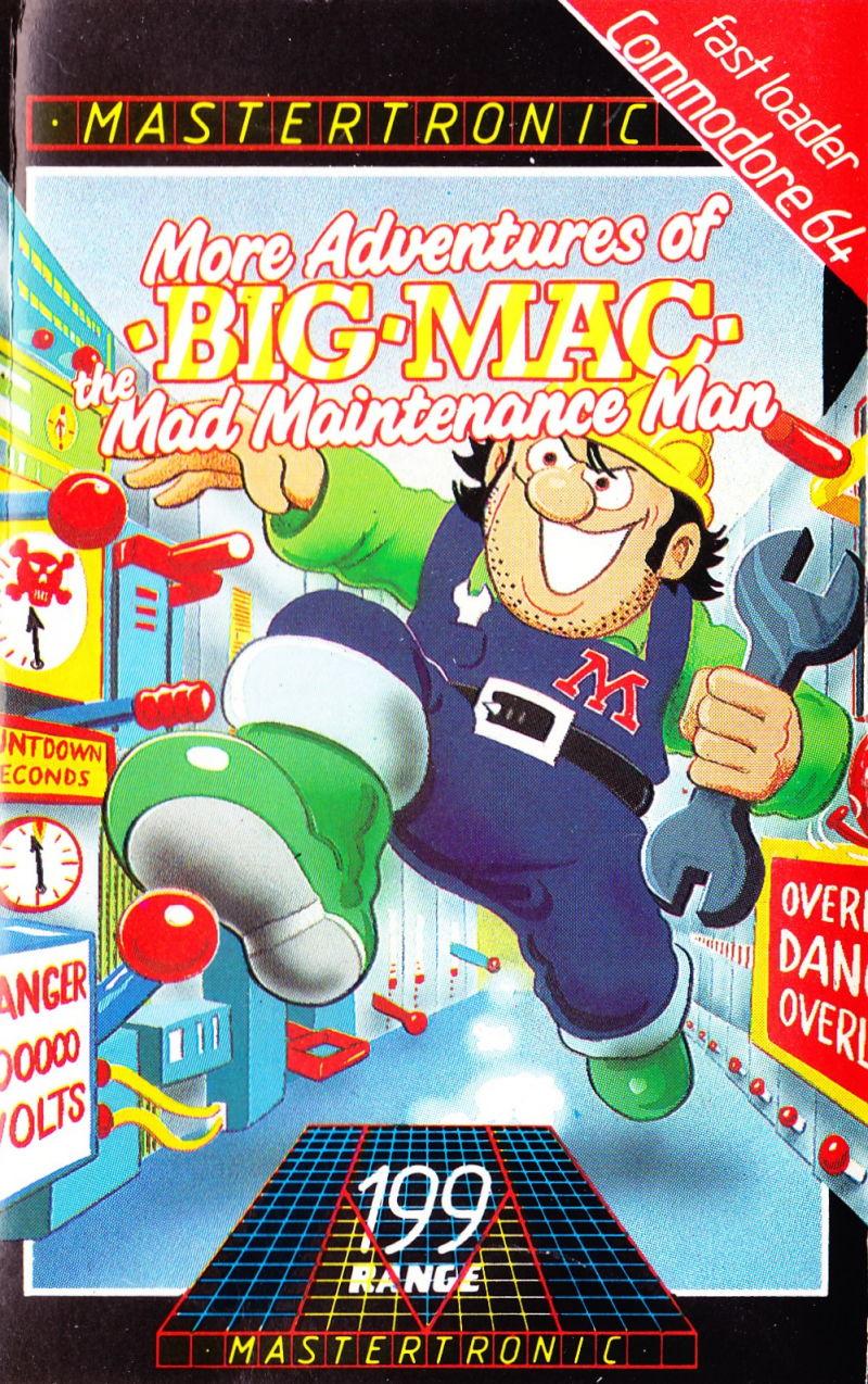 Big Mac: The Mad Maintenance Man : Mastertronic : Free ...