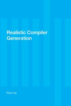 Cover of: Realistic compiler generation | Peter Lee